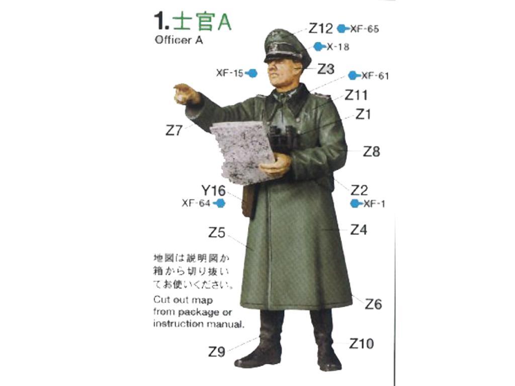 German Field Commander Set (Vista 3)