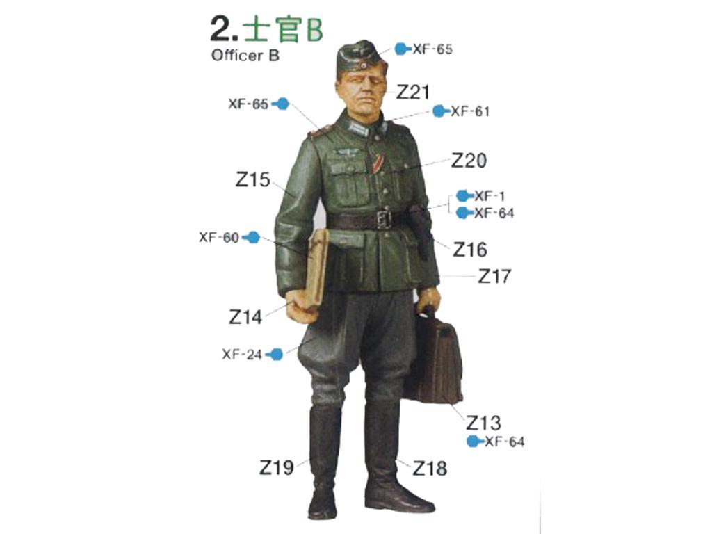 German Field Commander Set (Vista 4)