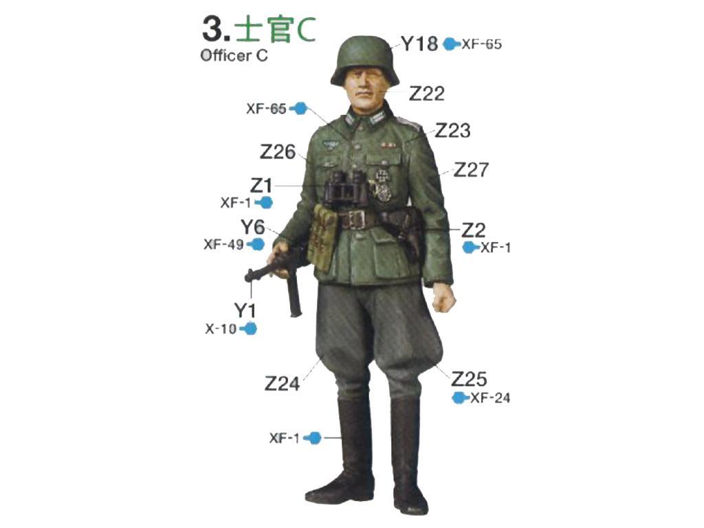 German Field Commander Set (Vista 5)