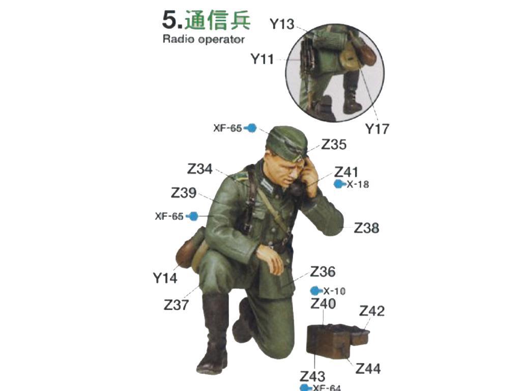German Field Commander Set (Vista 7)