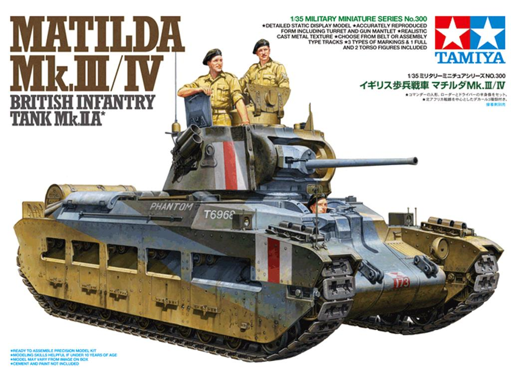 Matilda Mk.III/Iv British Infantry Tank (Vista 1)