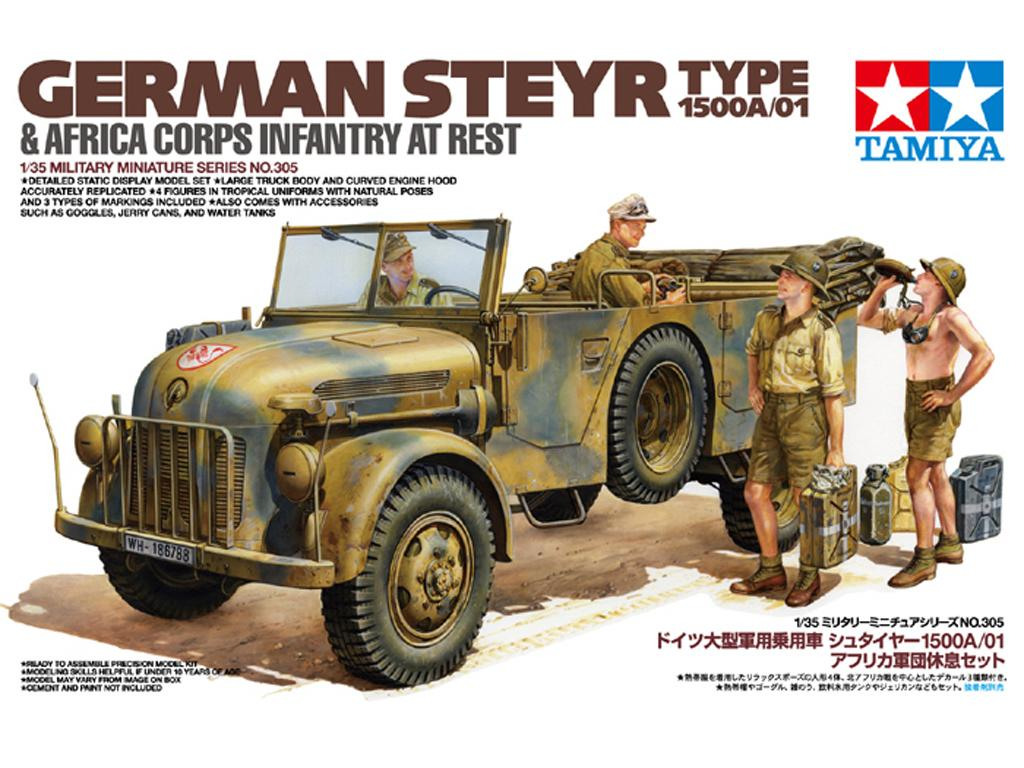 Steyr 1500A/01 & Africa Inf Rest (Vista 1)