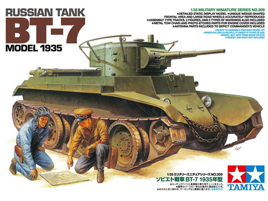 Russian Tank BT-7 Model 1935  (Vista 1)