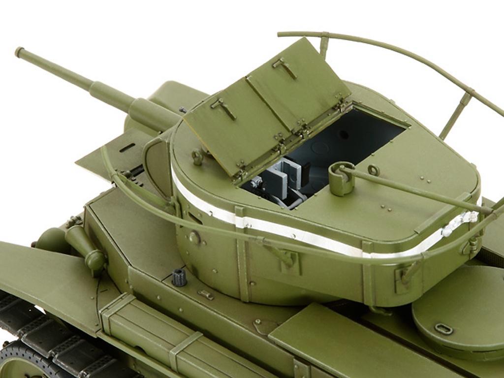 Russian Tank BT-7 Model 1935  (Vista 5)