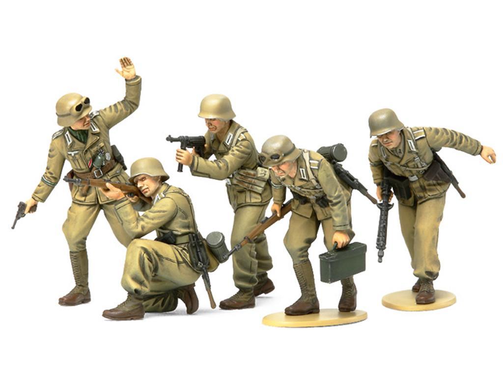 German Africa Corps Infantry (Vista 2)