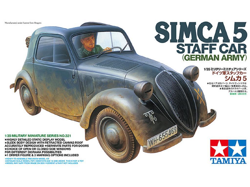 Simca 5 Staff Car - German Army (Vista 1)