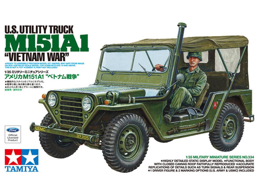 U.S. M151A1 Vietnam War (Vista 1)
