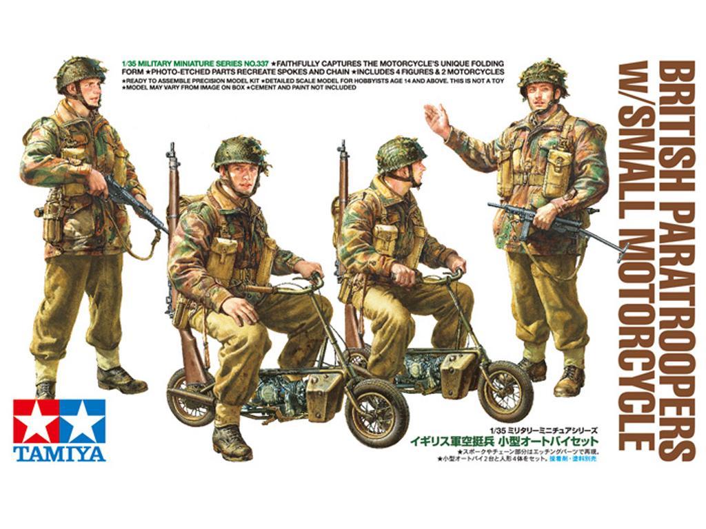 British Army Airborne soldiers small mot (Vista 1)