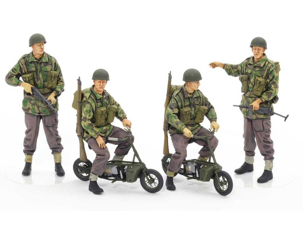 British Army Airborne soldiers small mot (Vista 2)