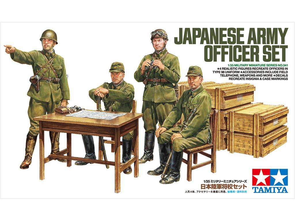 Oficiales Japoneses (Vista 1)