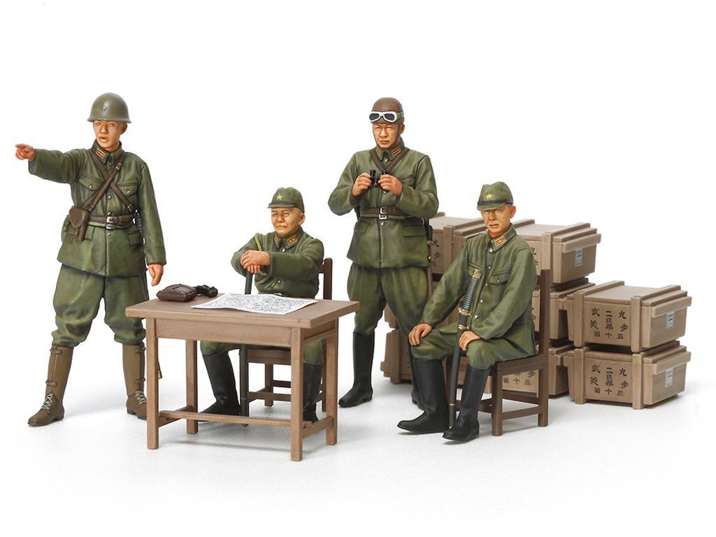 Oficiales Japoneses (Vista 2)