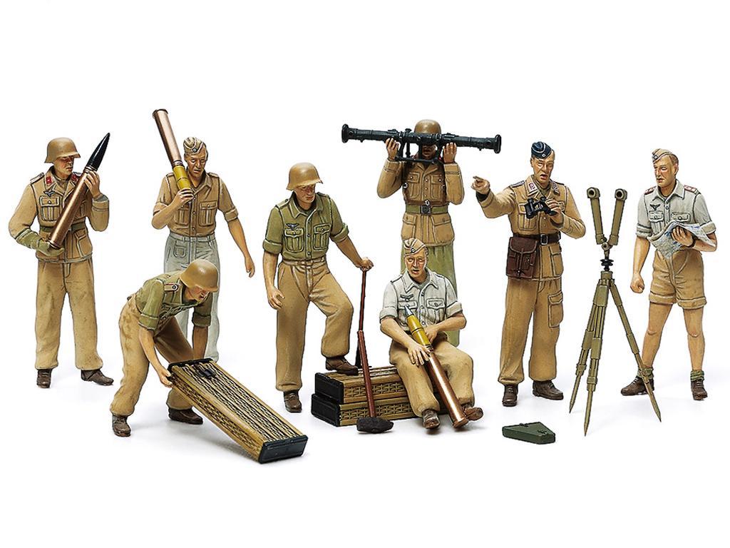 German Artillery Crew Set - Africa Corps (Vista 2)