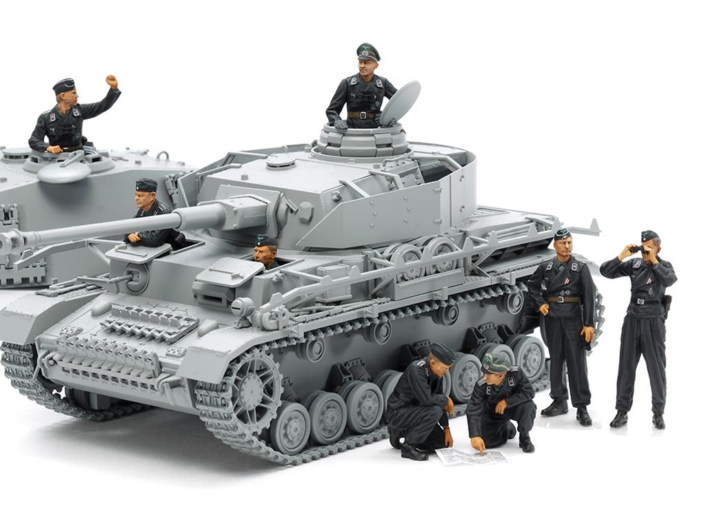 Wehrmacht Tank Crew Set (Vista 2)