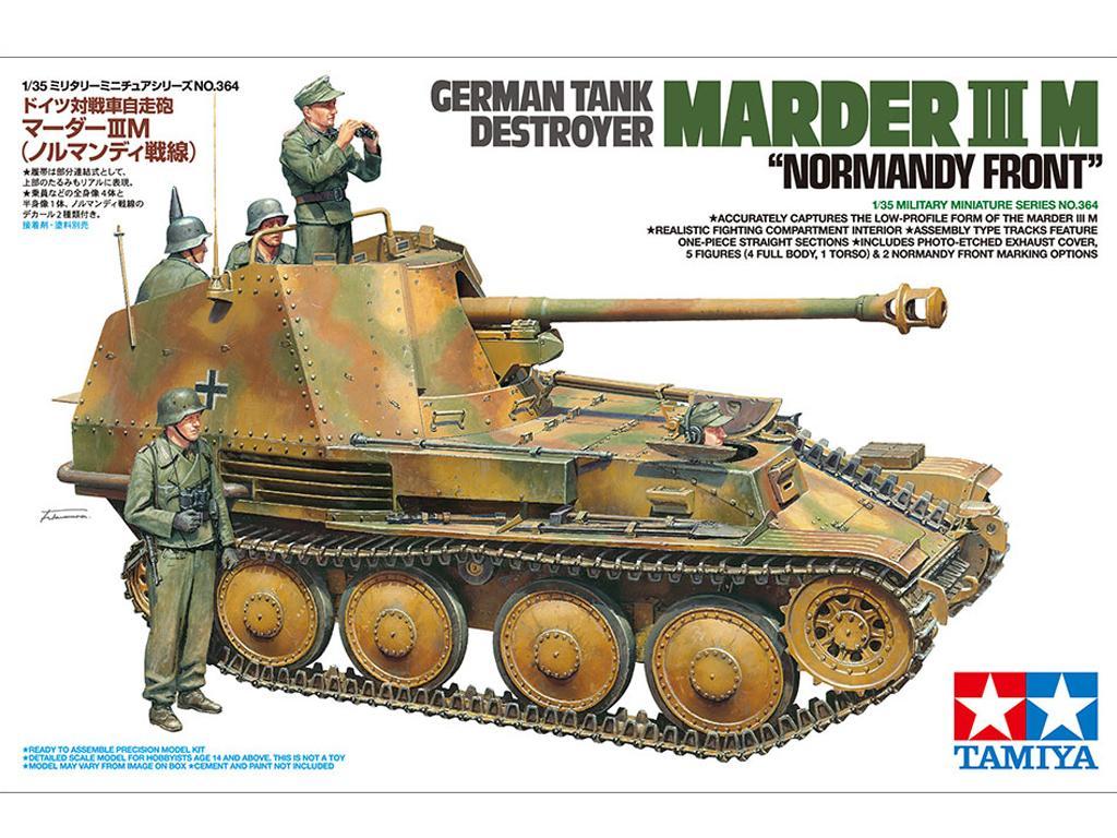 German Tank Destroyer Marder III M Normandy Front (Vista 1)