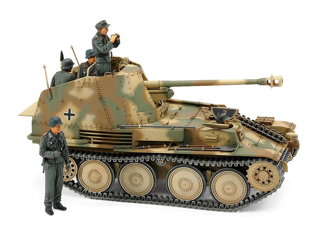 German Tank Destroyer Marder III M Normandy Front (Vista 9)