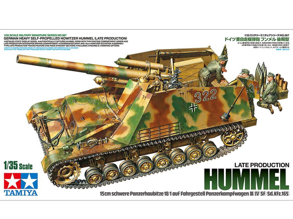 German Heavy Self-Propelled Howitzer Hummel (Vista 1)