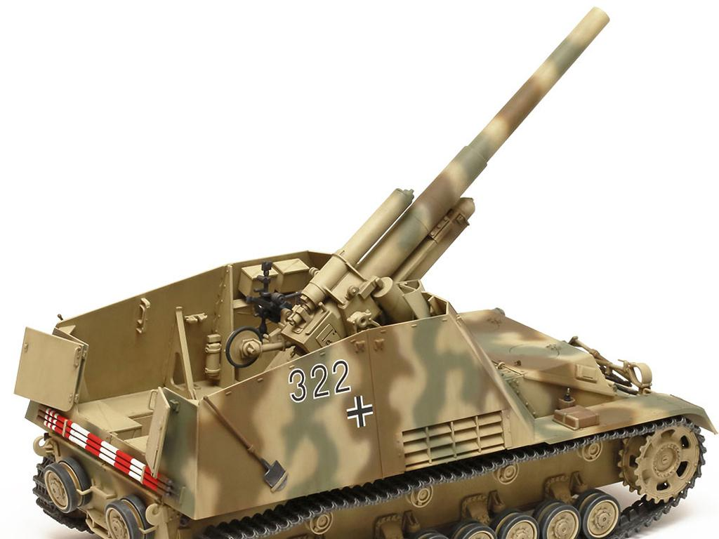 German Heavy Self-Propelled Howitzer Hummel (Vista 8)
