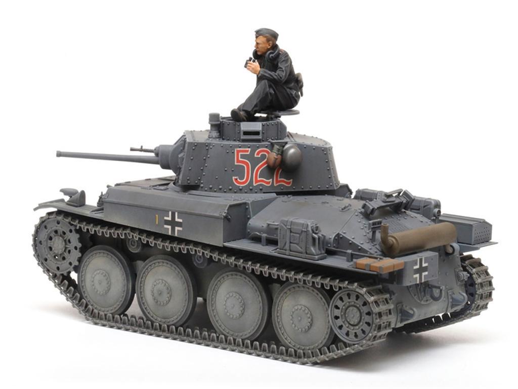 German Light Tank Panzerkampfwagen 38(t) Ausf.E/F (Vista 3)