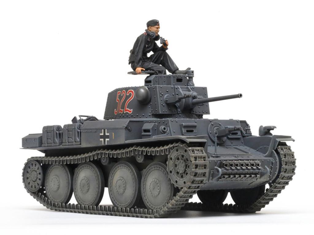 German Light Tank Panzerkampfwagen 38(t) Ausf.E/F (Vista 4)