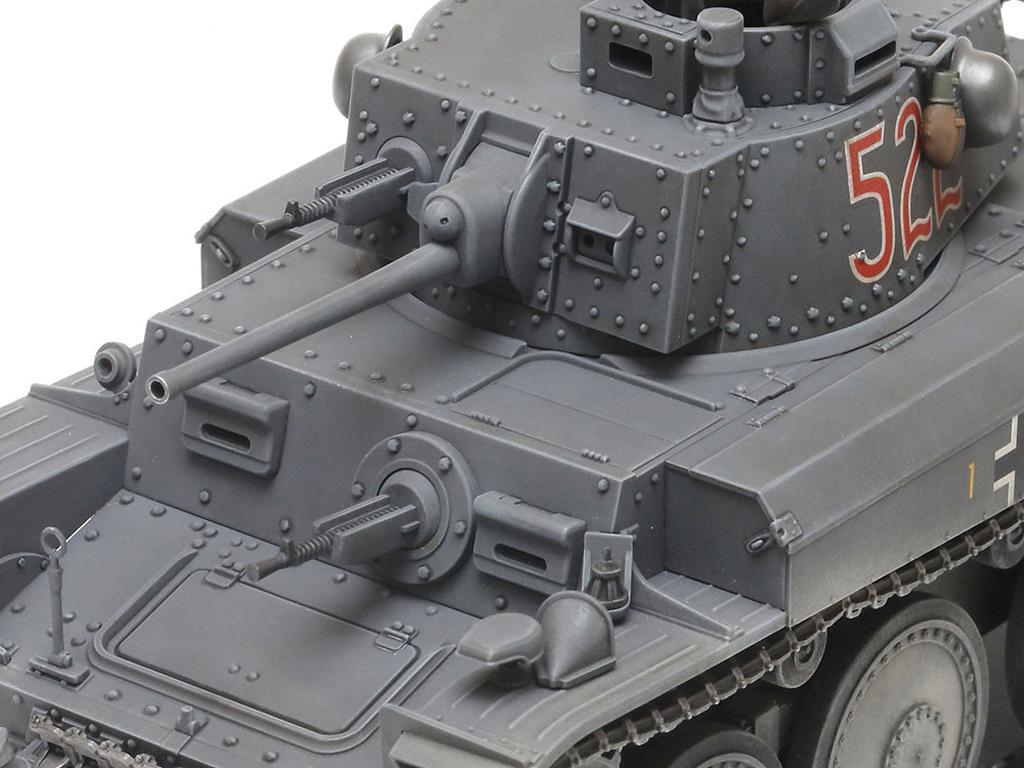 German Light Tank Panzerkampfwagen 38(t) Ausf.E/F (Vista 5)