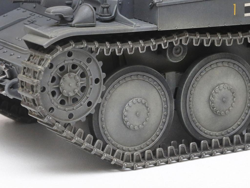 German Light Tank Panzerkampfwagen 38(t) Ausf.E/F (Vista 6)