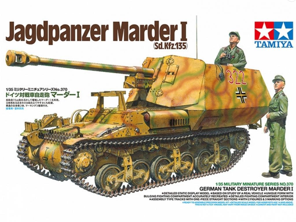 Jagdpanzer Marder I (Vista 1)