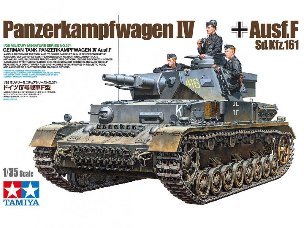 Pz.Kpfw.IV Ausf.F (Vista 1)