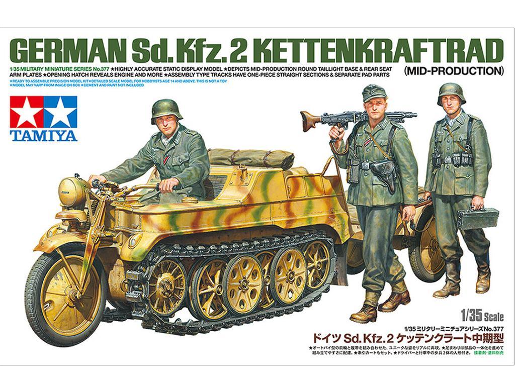 German Sd.Kfz.2 Kettenkraftrad (Vista 1)