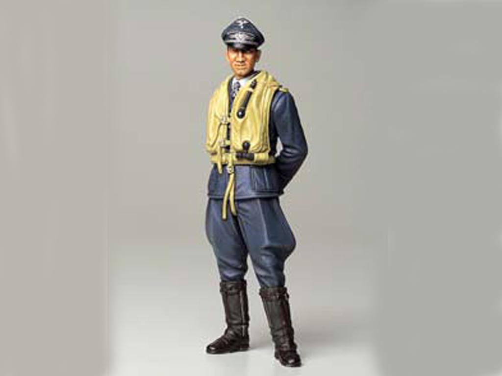 Piloto Aleman de la Luftwaffe (Vista 2)