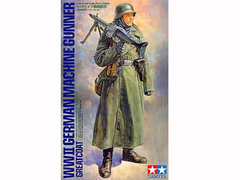 Soldado Aleman con MG (Vista 1)