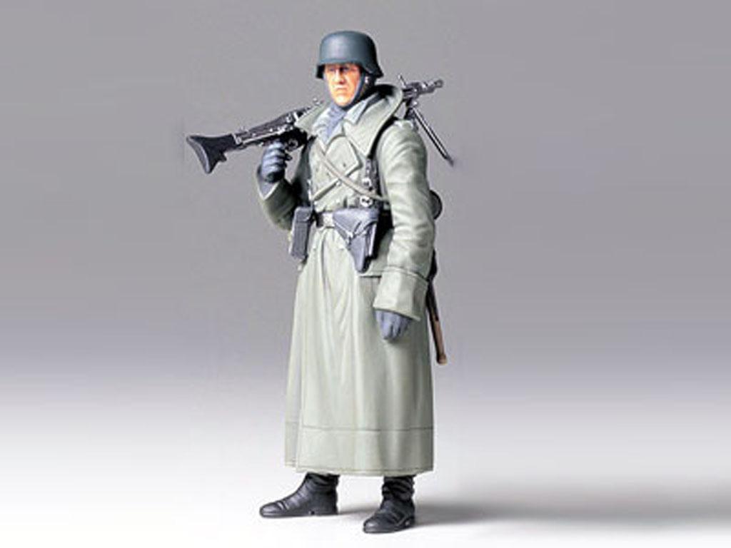 Soldado Aleman con MG (Vista 2)
