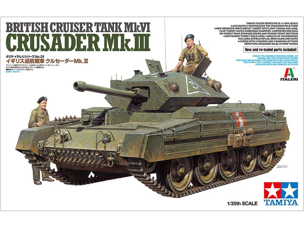 Tanque Británico Crusader Mk.III (Vista 1)