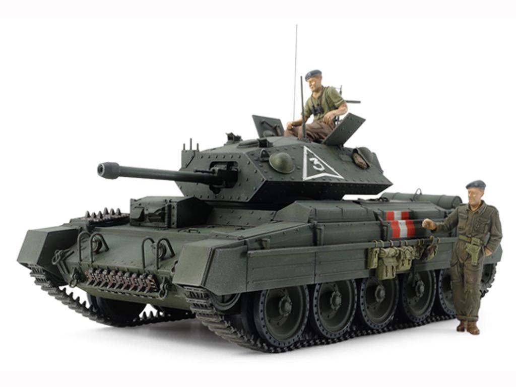 Tanque Británico Crusader Mk.III (Vista 2)