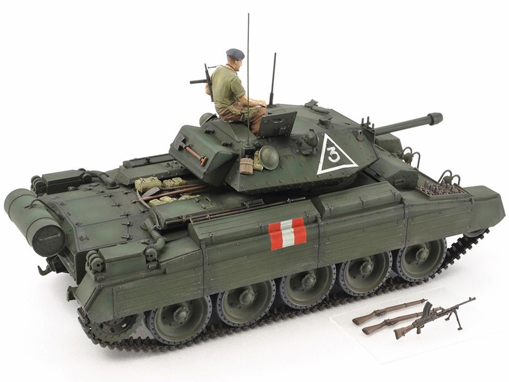 Tanque Británico Crusader Mk.III (Vista 3)