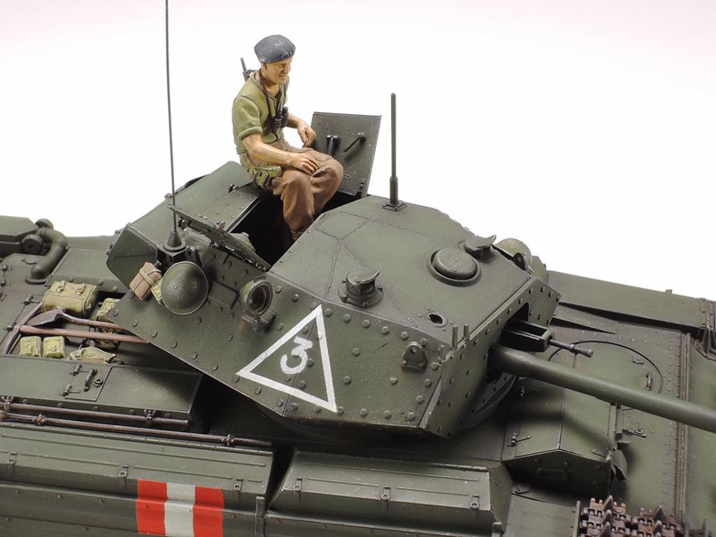 Tanque Británico Crusader Mk.III (Vista 4)