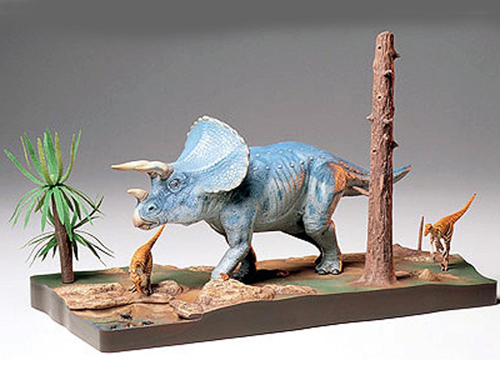Diorama del Triceratops (Vista 2)