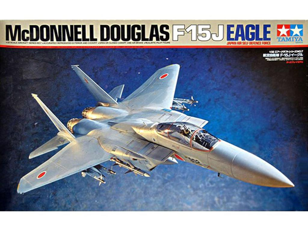 McDonnell Douglas F-15J Eagle JASDF (Vista 1)
