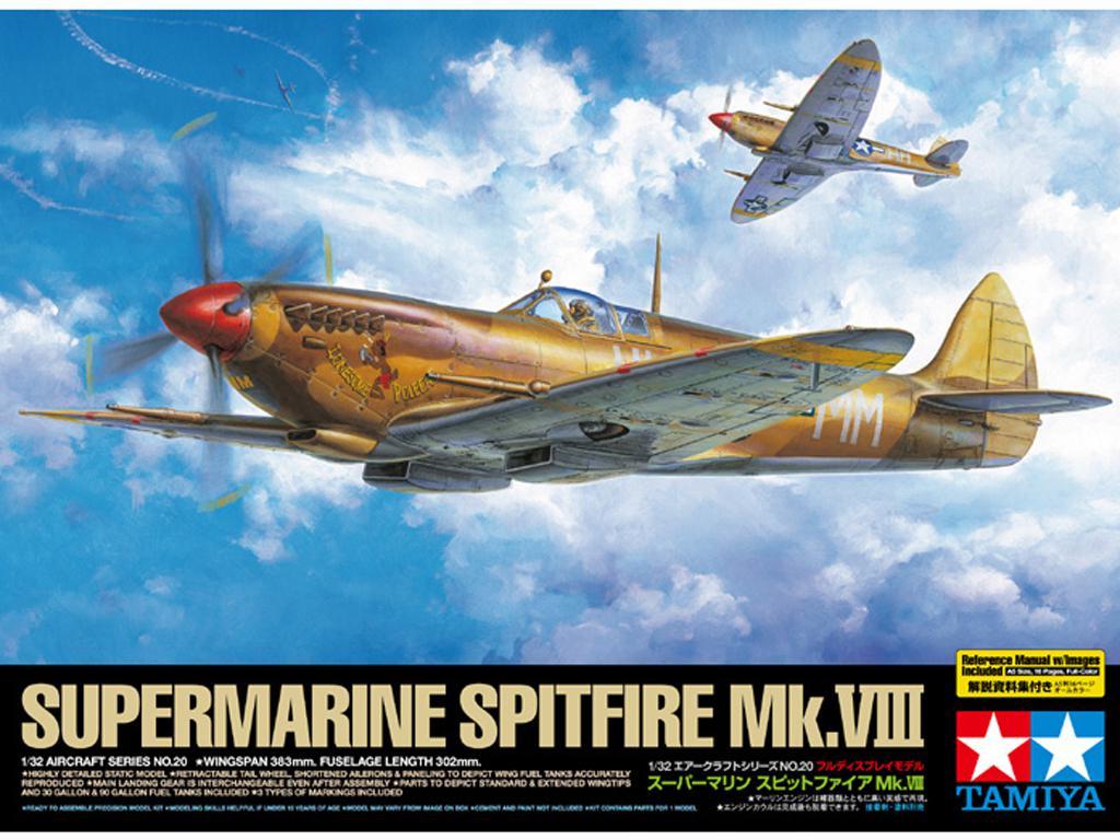 Supermarine Spitfire Mk.VIII  (Vista 1)