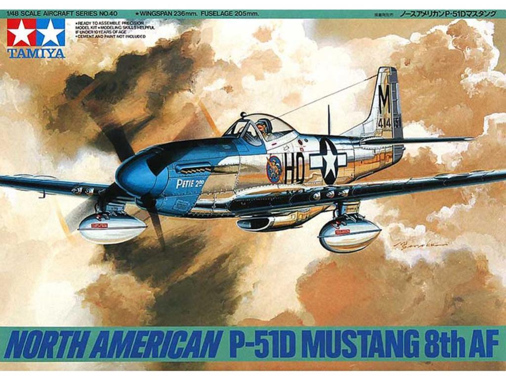 Horth American P-51D Mustang 8th AF (Vista 1)