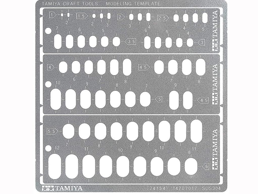 Plantilla de modelado RR 1-6 (Vista 1)