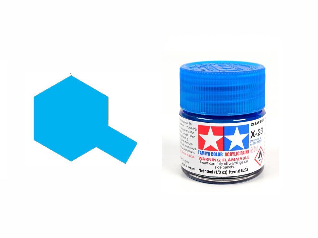 Azul Transparente X-23 (Vista 1)