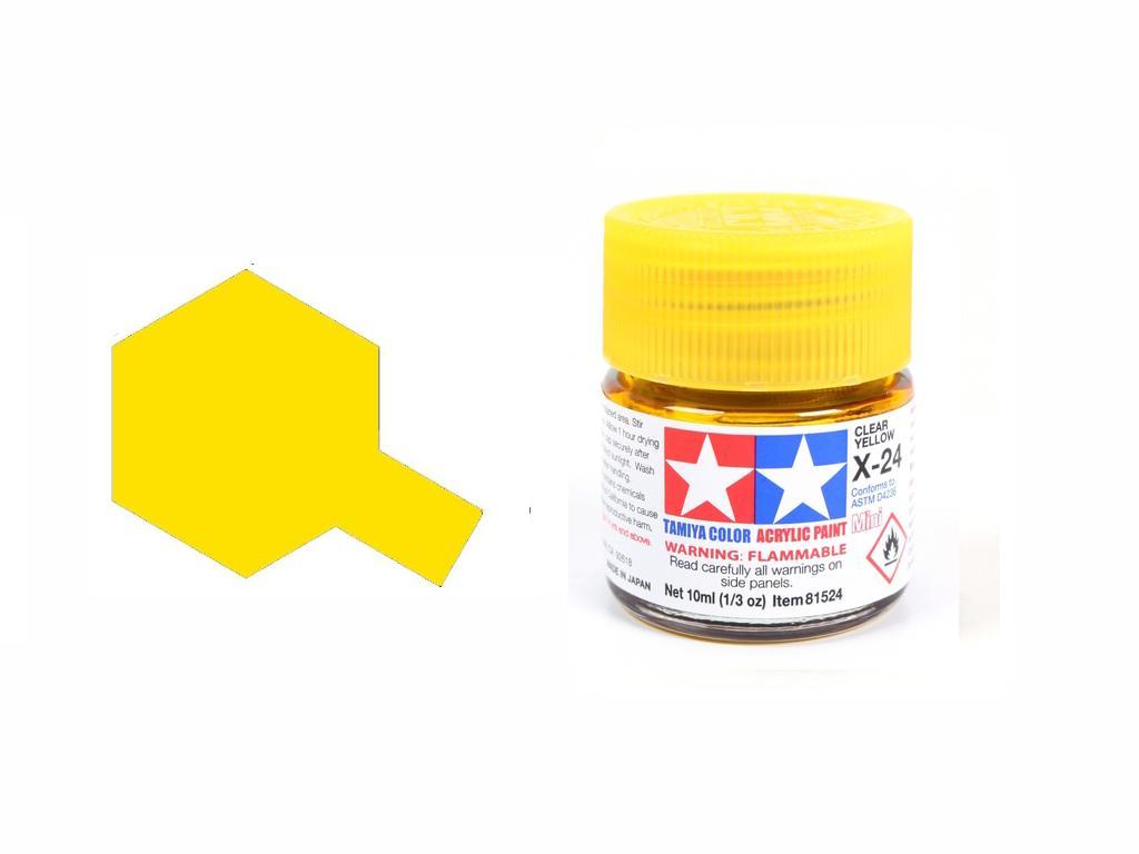Amarillo Transparente X-24 (Vista 1)
