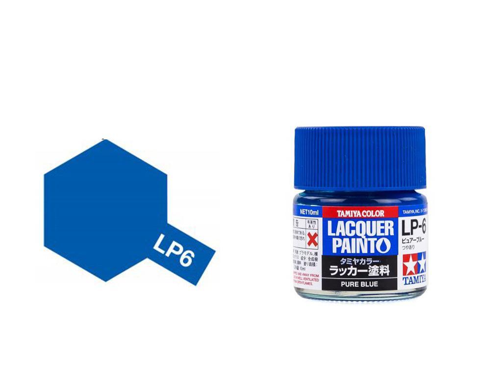 LP-6 Azul puro (Vista 1)