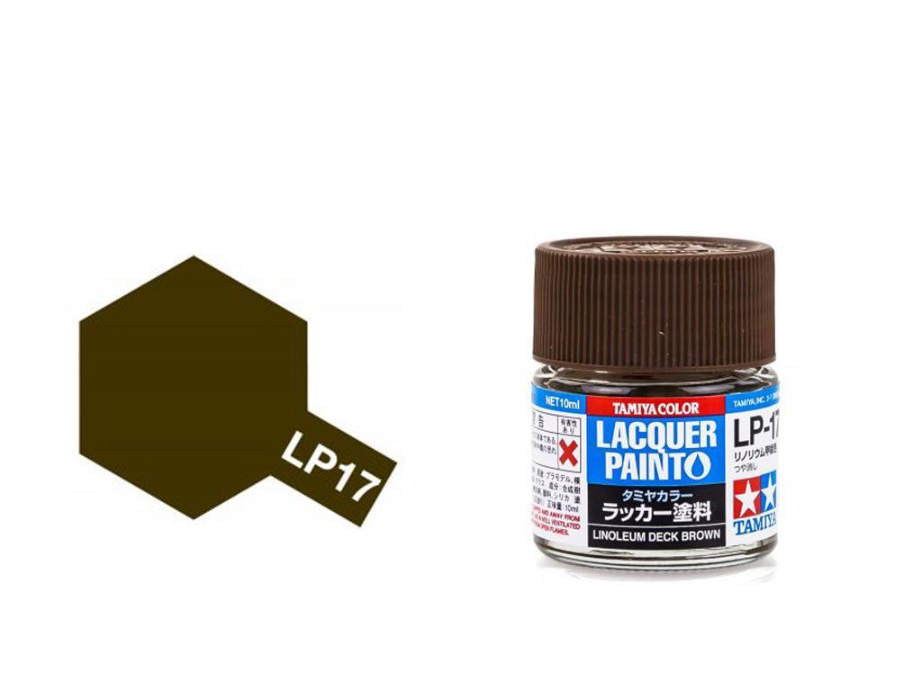 LP-17 Cubierta de linóleo marrón (Vista 1)