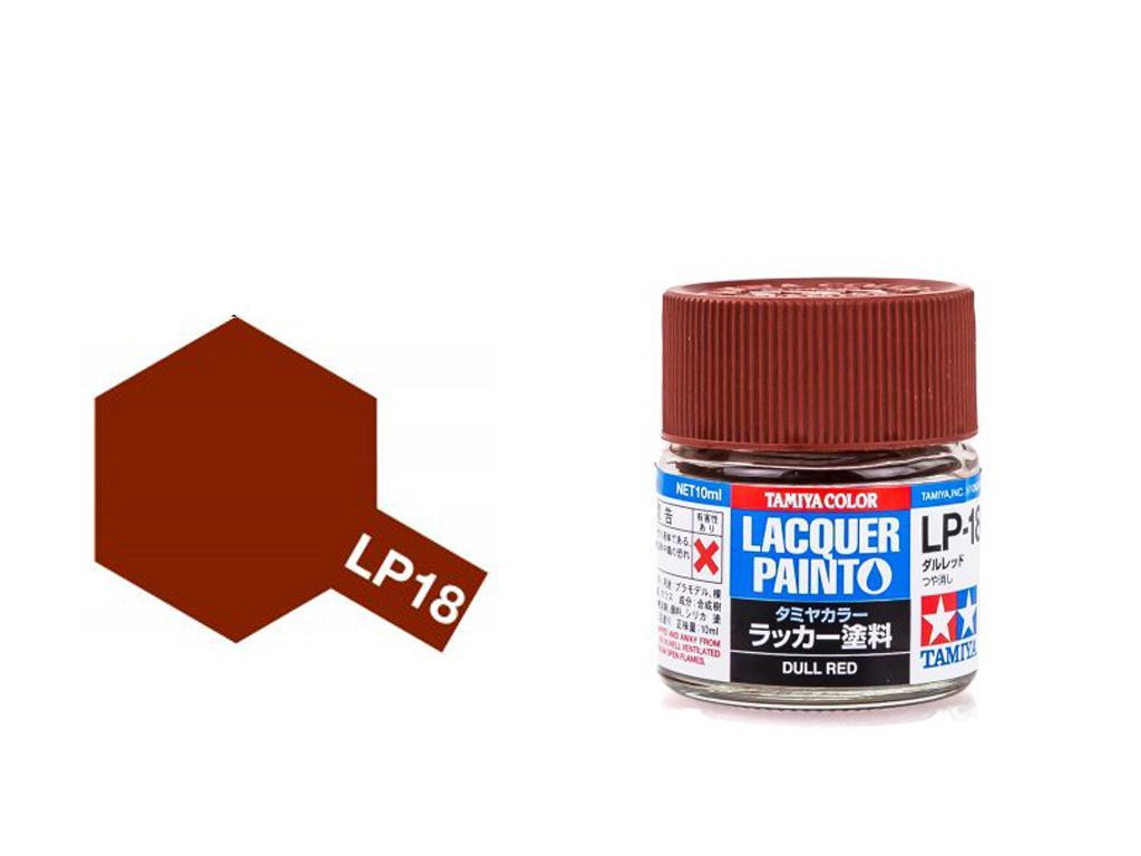 LP-18 Rojo Opaco (Vista 1)