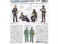 Soldados de la Wermatch descansando (Vista 5)