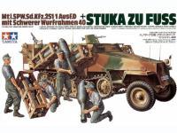 Stuka Zu Fuss MTL.Sd.Kfz. 251/1 Ausf. D (Vista 3)
