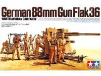 Cañon Aleman  88 mm Flak36 (Vista 6)