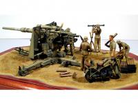 Cañon Aleman  88 mm Flak36 (Vista 9)