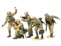 German Africa Corps Infantry (Vista 4)